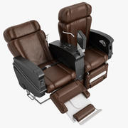 First Class Airplane Chair 11 3d model
