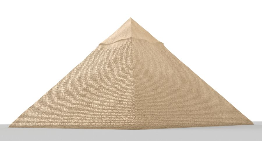 Egypt Pyramid royalty-free 3d model - Preview no. 5