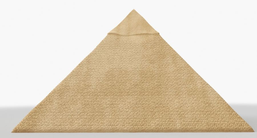 Egypt Pyramid royalty-free 3d model - Preview no. 4