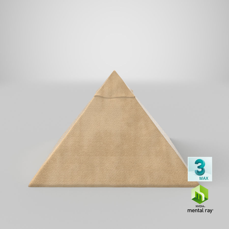Egypt Pyramid royalty-free 3d model - Preview no. 14