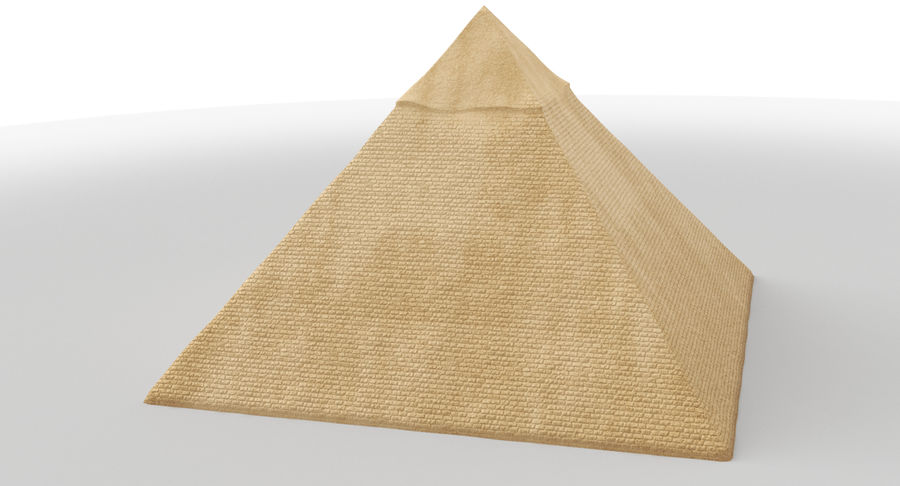 Egypt Pyramid royalty-free 3d model - Preview no. 2