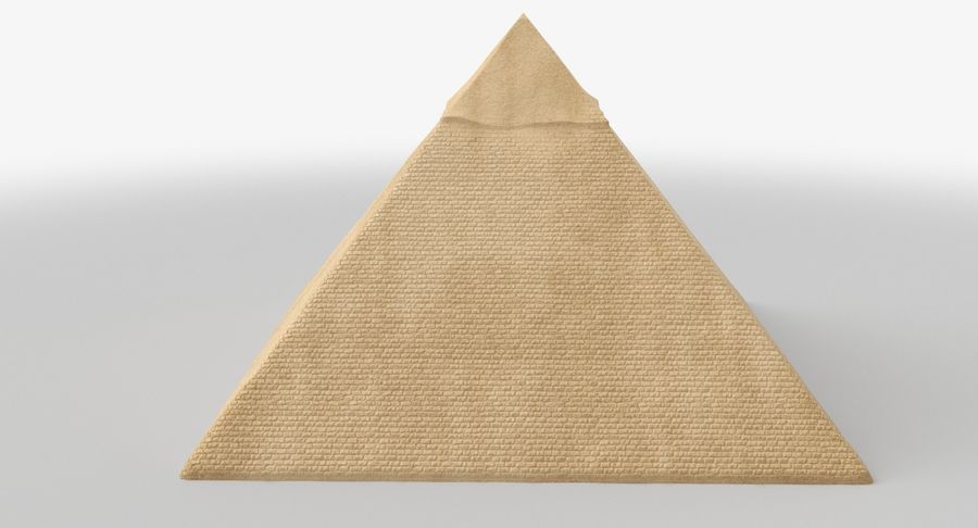 Egypt Pyramid royalty-free 3d model - Preview no. 7
