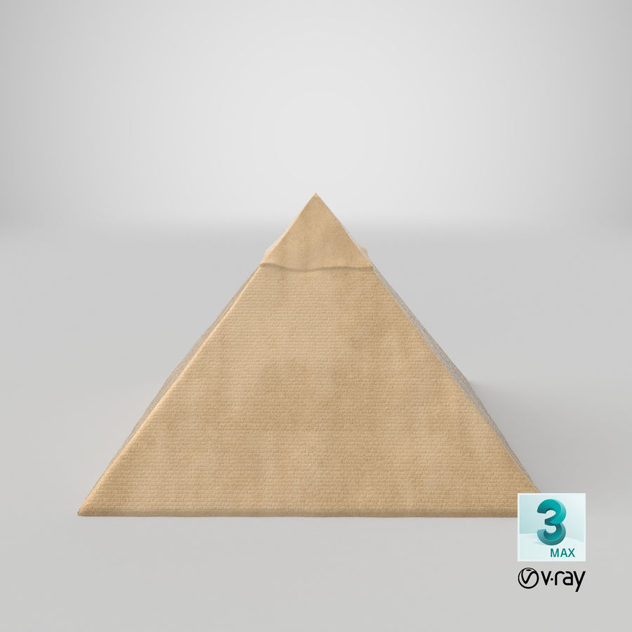 Egypt Pyramid royalty-free 3d model - Preview no. 13
