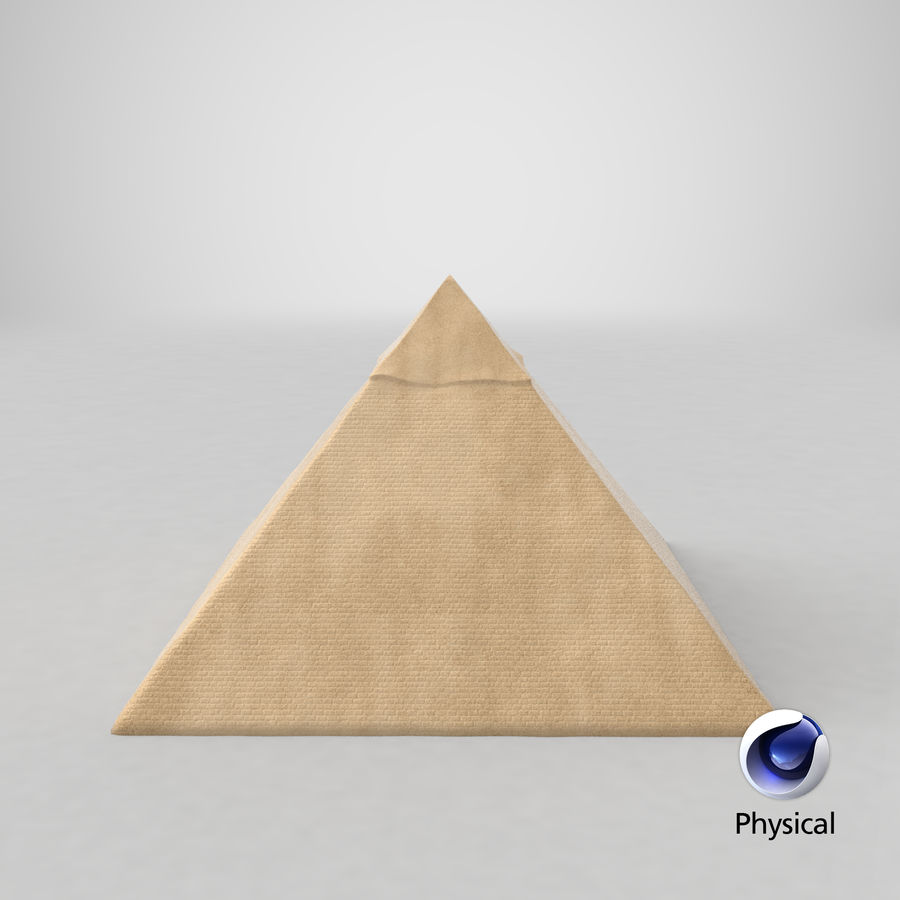 Egypt Pyramid royalty-free 3d model - Preview no. 15