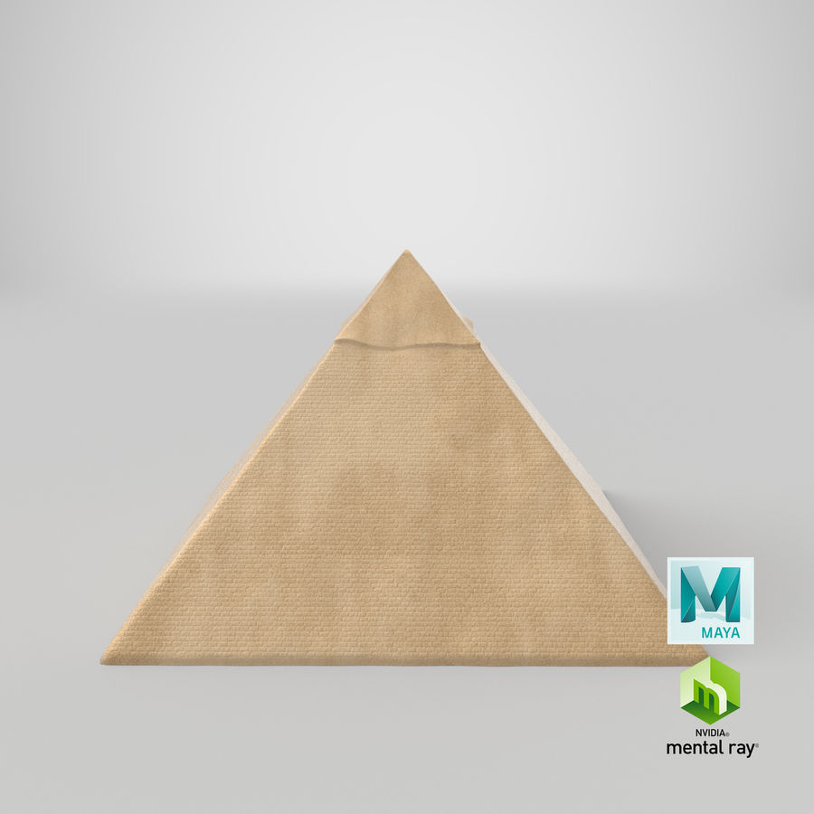 Egypt Pyramid royalty-free 3d model - Preview no. 12