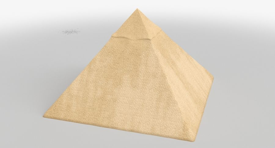 Egypt Pyramid royalty-free 3d model - Preview no. 6