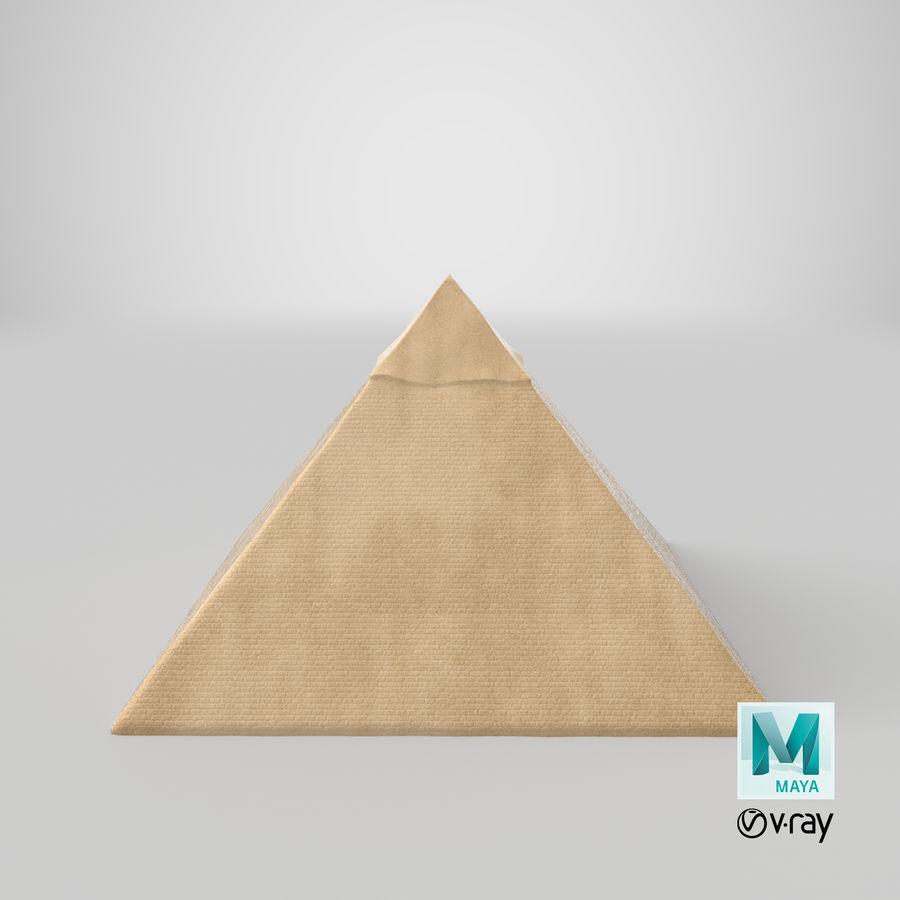 Egypt Pyramid royalty-free 3d model - Preview no. 11