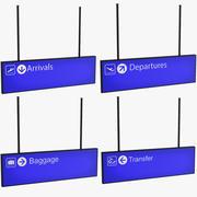 Luchthaven tekenen 3d model