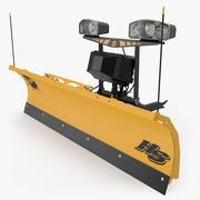 Fisher Storm Guard SnowPlow 3d model