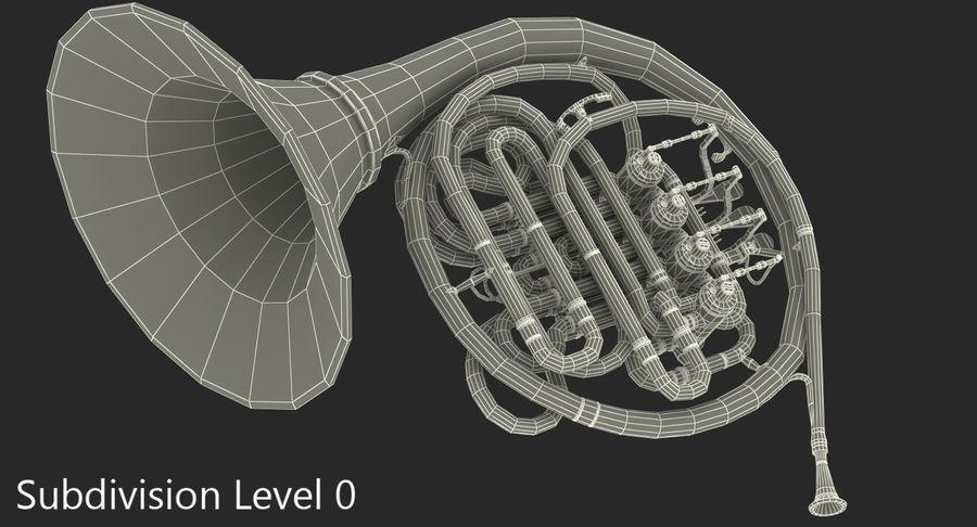双圆号 royalty-free 3d model - Preview no. 9