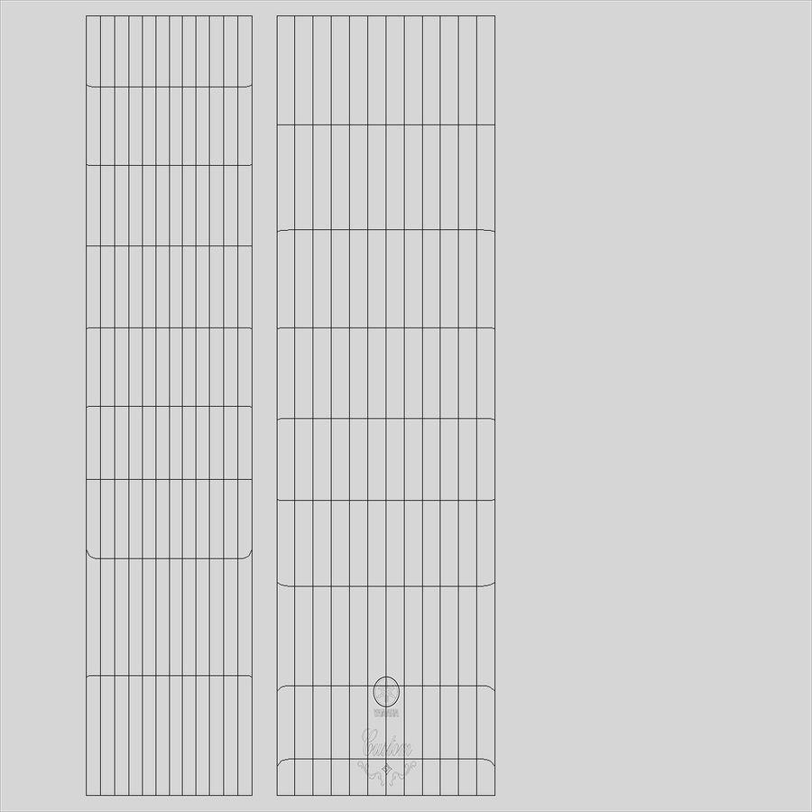 双圆号 royalty-free 3d model - Preview no. 11