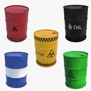 Barrels Collection 3D Models 3d model