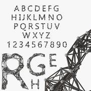 Alphabet / Structure 3d model