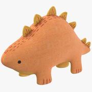 Doldurulmuş dinozor 3d model