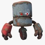 Robô engraçado ruim PBR 3d model