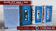 Audio K7 3d model