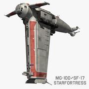 MG100 StarFortress 3d model
