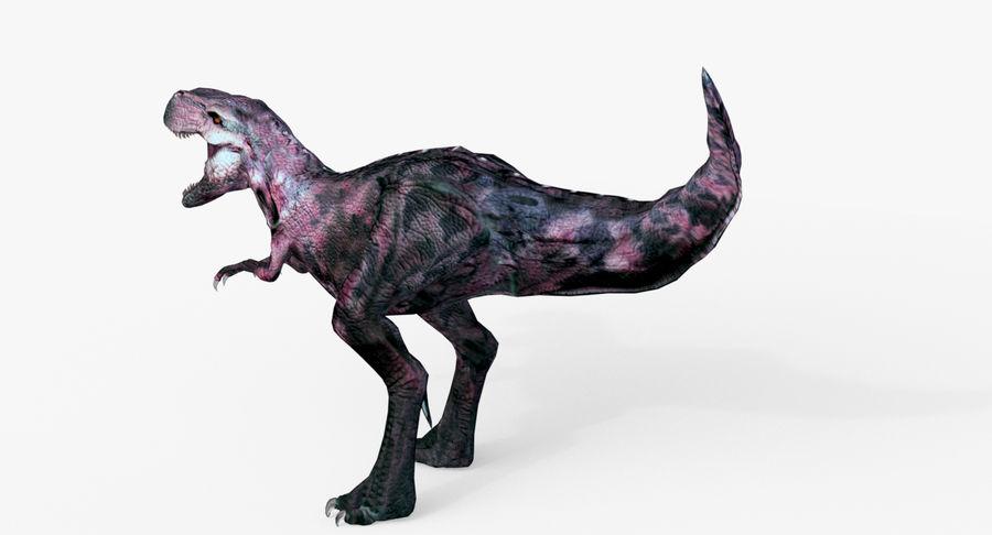 Raptor T-Rex Hybrid Dinosaur royalty-free 3d model - Preview no. 5