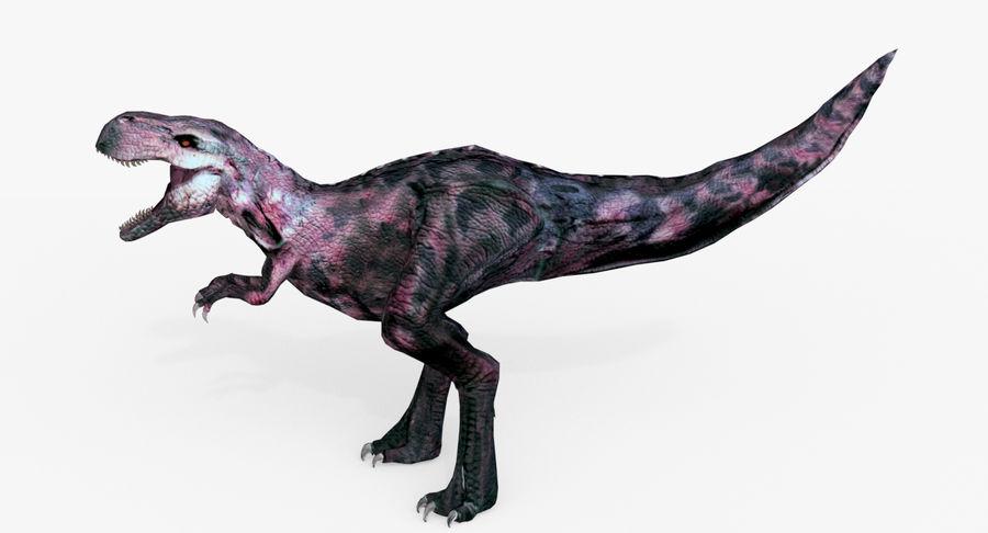Raptor T-Rex Hybrid Dinosaur royalty-free 3d model - Preview no. 4
