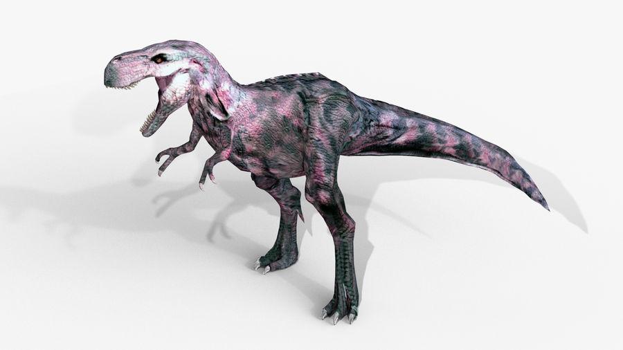 Raptor T-Rex Hybrid Dinosaur royalty-free 3d model - Preview no. 2