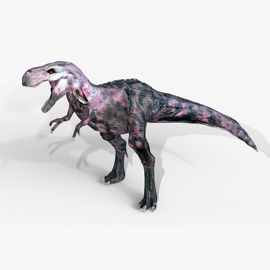 Raptor T-Rex Hybrid Dinosaur royalty-free 3d model - Preview no. 1