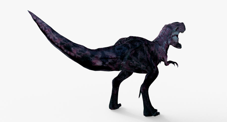 Raptor T-Rex Hybrid Dinosaur royalty-free 3d model - Preview no. 7