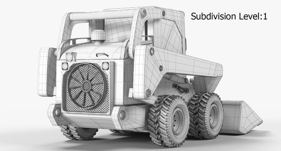 建設機械 royalty-free 3d model - Preview no. 16