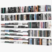 Livres de table basse 3d model