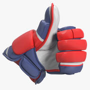 Hockey Glove Thumb Up Sign 3D Model 3d model