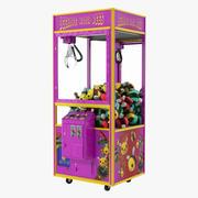 Distributeur automatique de griffes avec des jouets 3d model