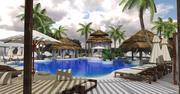 piscina modelo 3d