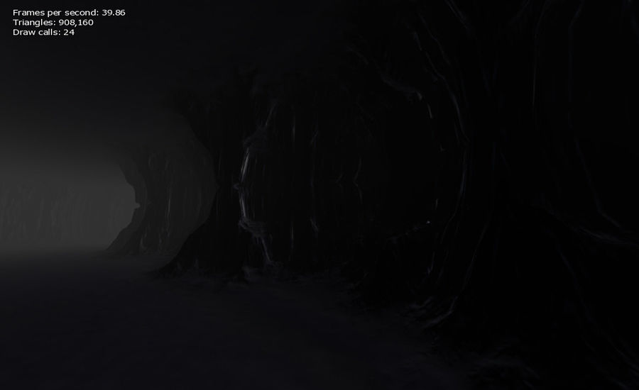 Cave Map royalty-free 3d model - Preview no. 25
