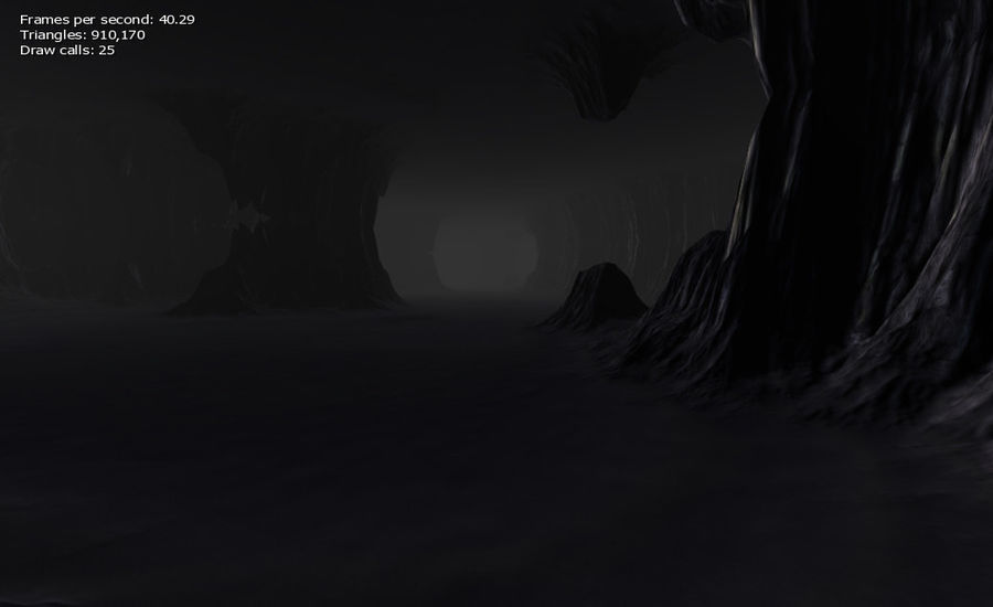 Cave Map royalty-free 3d model - Preview no. 17