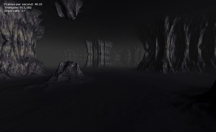 Cave Map royalty-free 3d model - Preview no. 29