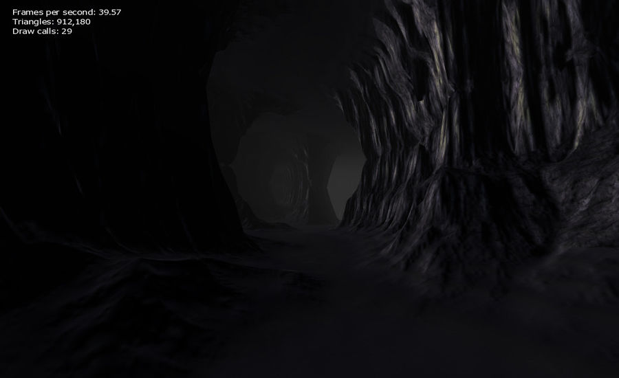 Cave Map royalty-free 3d model - Preview no. 26