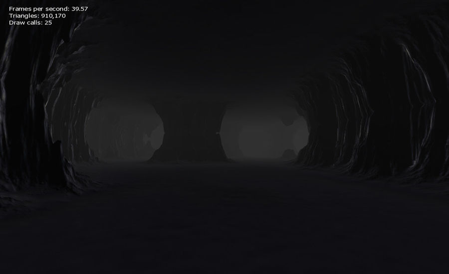 Cave Map royalty-free 3d model - Preview no. 27