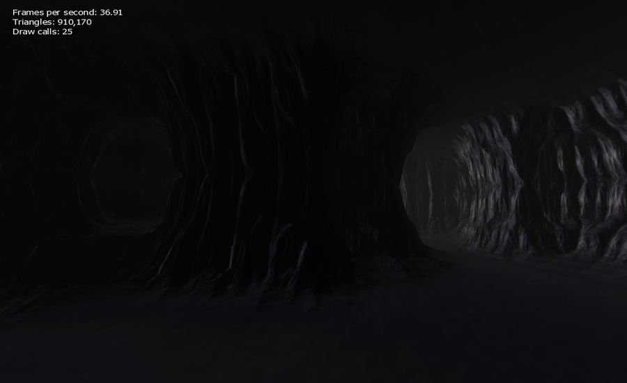 Cave Map royalty-free 3d model - Preview no. 23