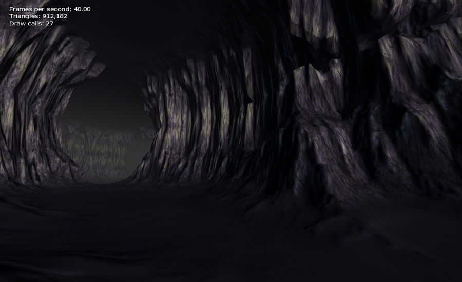 Cave Map royalty-free 3d model - Preview no. 28