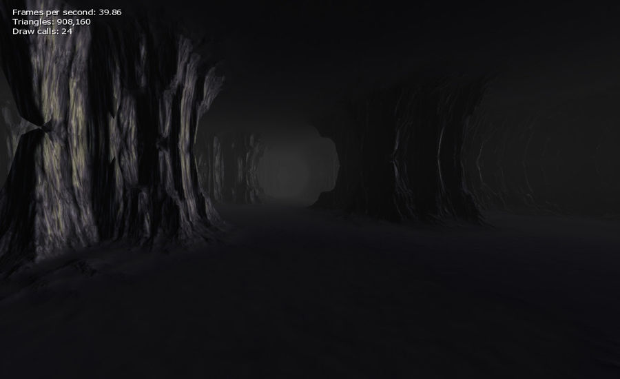 Cave Map royalty-free 3d model - Preview no. 18