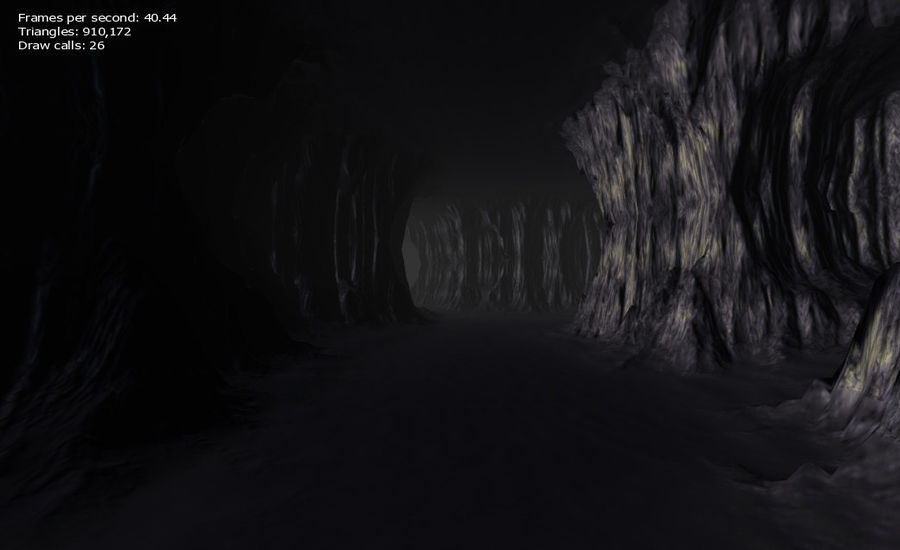 Cave Map royalty-free 3d model - Preview no. 13