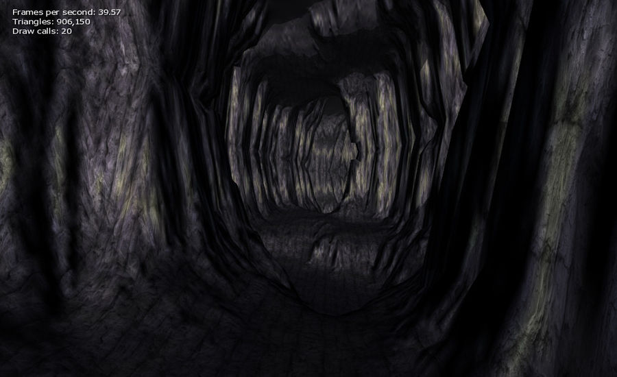 Cave Map royalty-free 3d model - Preview no. 24