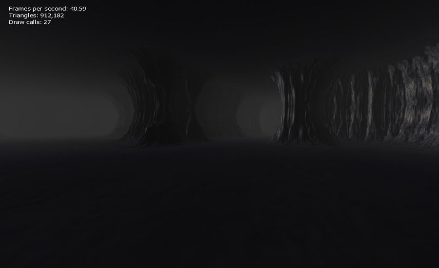 Cave Map royalty-free 3d model - Preview no. 2