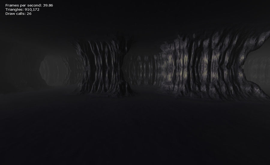Cave Map royalty-free 3d model - Preview no. 16