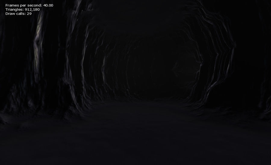 Cave Map royalty-free 3d model - Preview no. 30