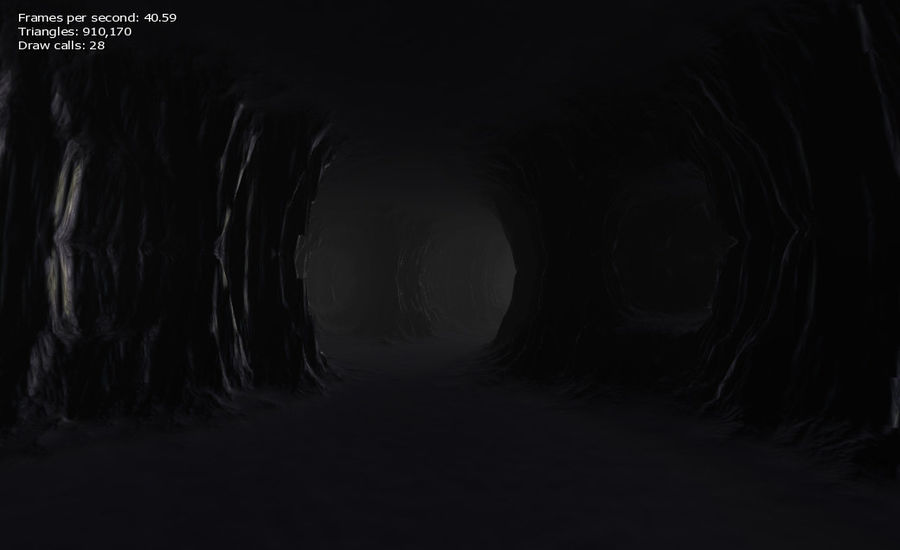 Cave Map royalty-free 3d model - Preview no. 22
