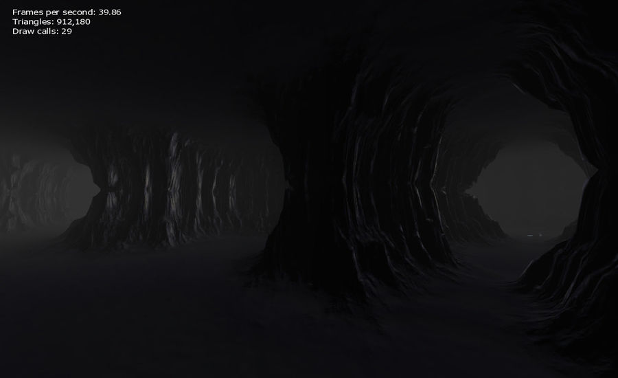 Cave Map royalty-free 3d model - Preview no. 19