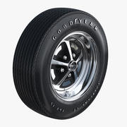 Wheel Magnum 500 3d model
