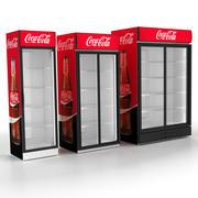 상점 냉장고 냉동고 3d model