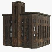 Old factory/Powerhouse 3d model