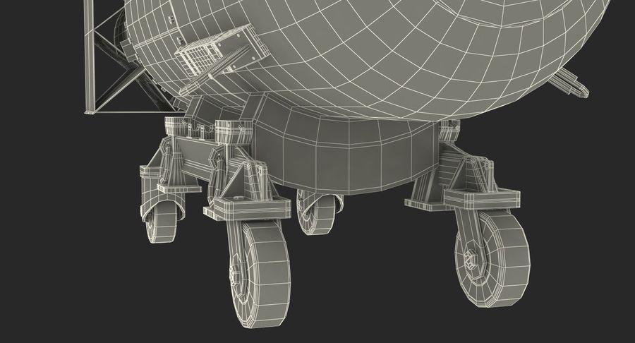 Bombe nucléaire de petit garçon sur le chariot royalty-free 3d model - Preview no. 20